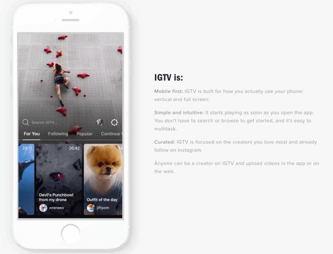Why IGTV