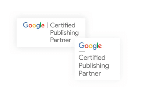 Google Publishing Partner Badge