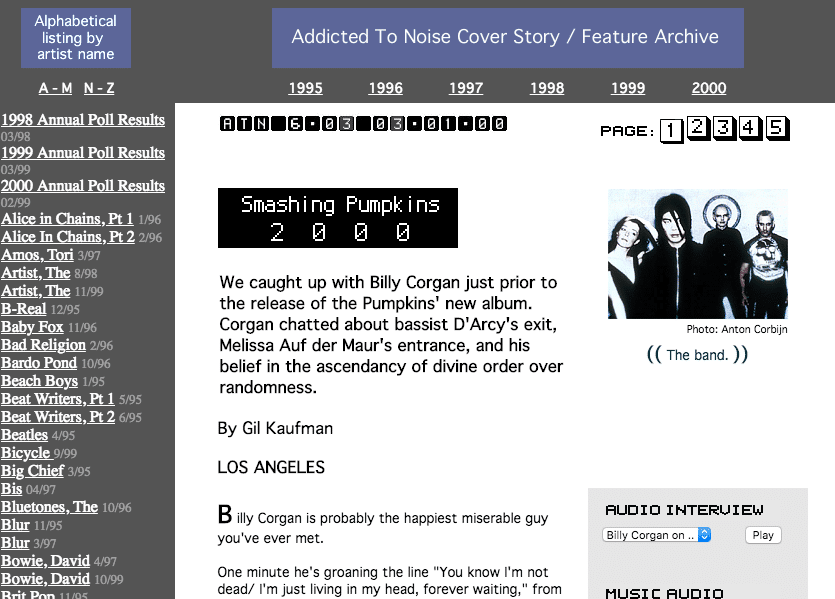 Music Webzine