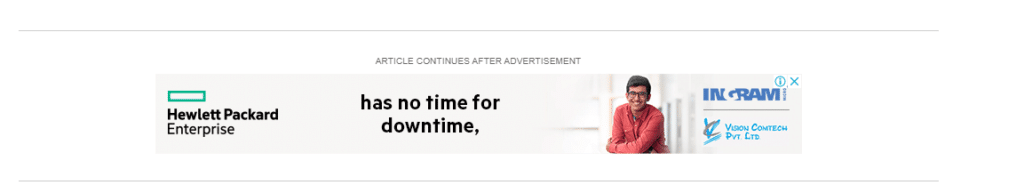 A Display Ad on The Atlantic