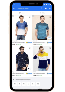 In-feed (eCommerce) Mobile Native Ads