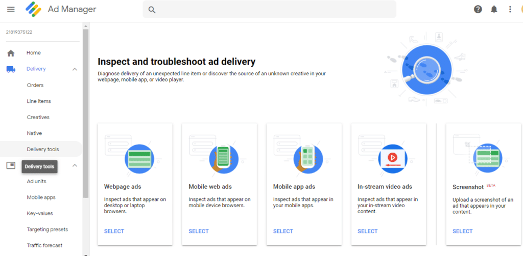 Ad Delivery in DFP