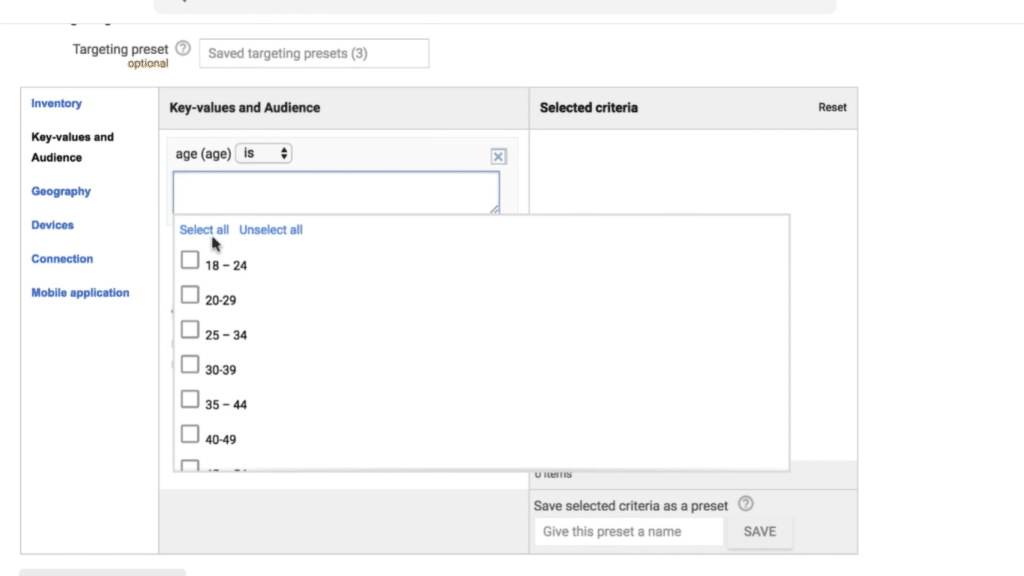Key Value Targeting Google Ad Manager