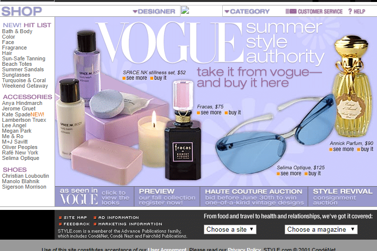 Vogue Affiliate Marketing