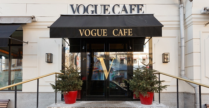 Vogue Cafe in Moscow