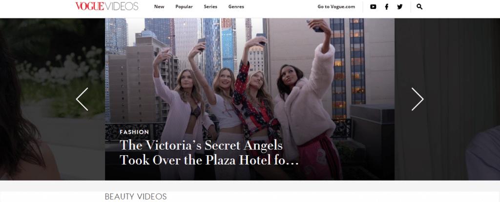 Vogue Video Channel