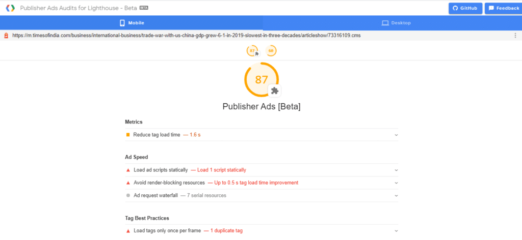 Google Publisher Ad Audit- Automatad