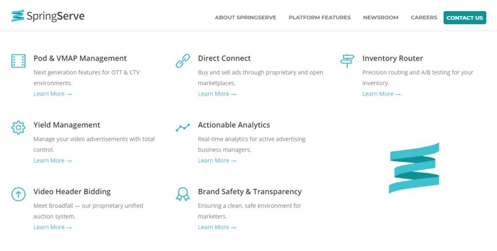 SpringServe ad network