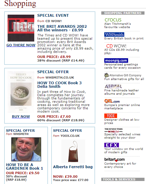 The Times E-Shop