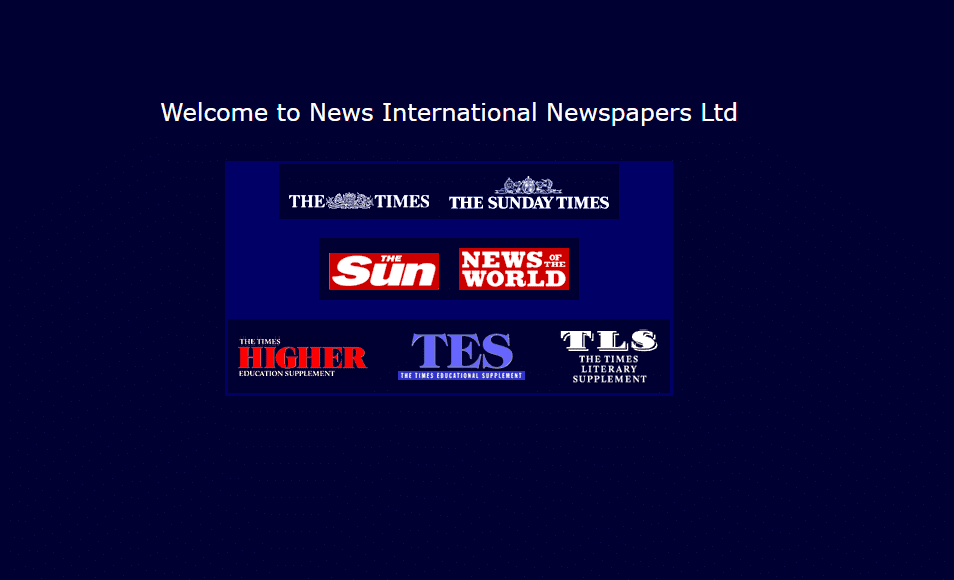 The Times in 1999