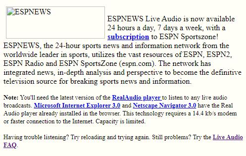 ESPN Live New Subscription