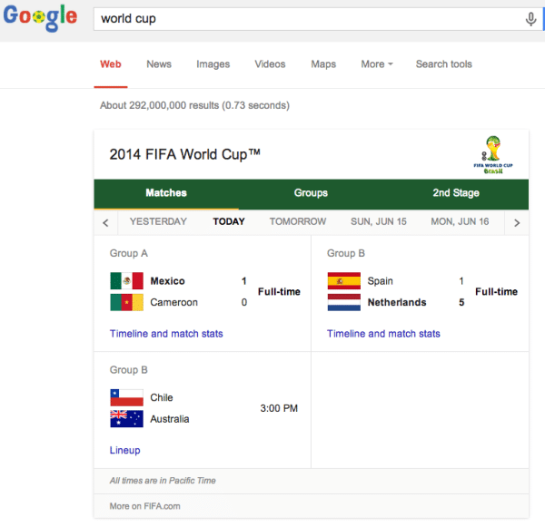 ESPN and Google partnership