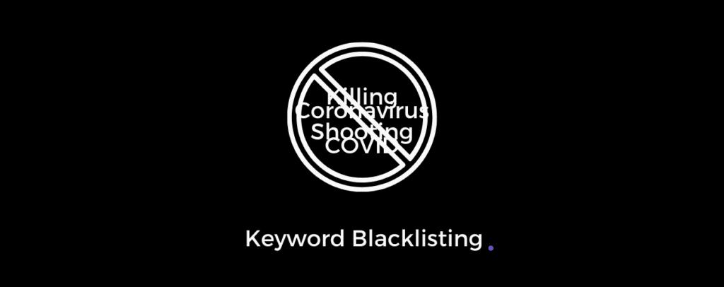 Keyword Blacklisting