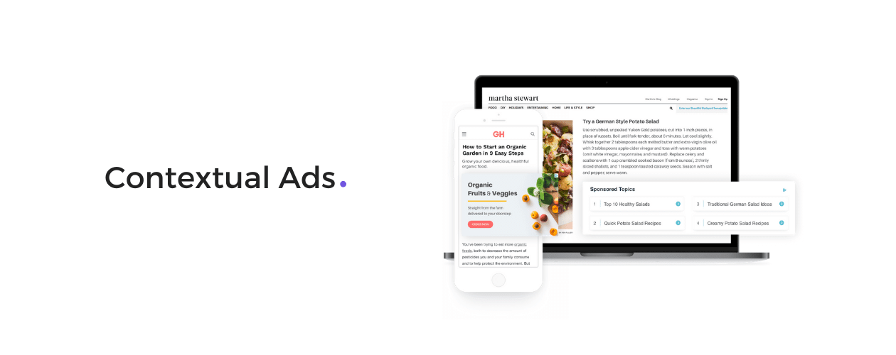 Contextual Ads for Publishers