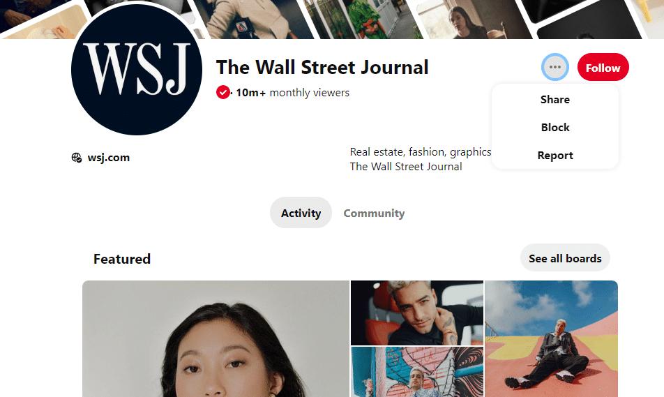 WSJ on Pinterest