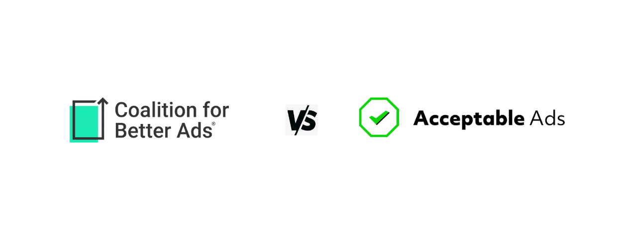 Better Ads Vs Acceptable Ads