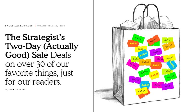 The Strategist Sale - Automatad