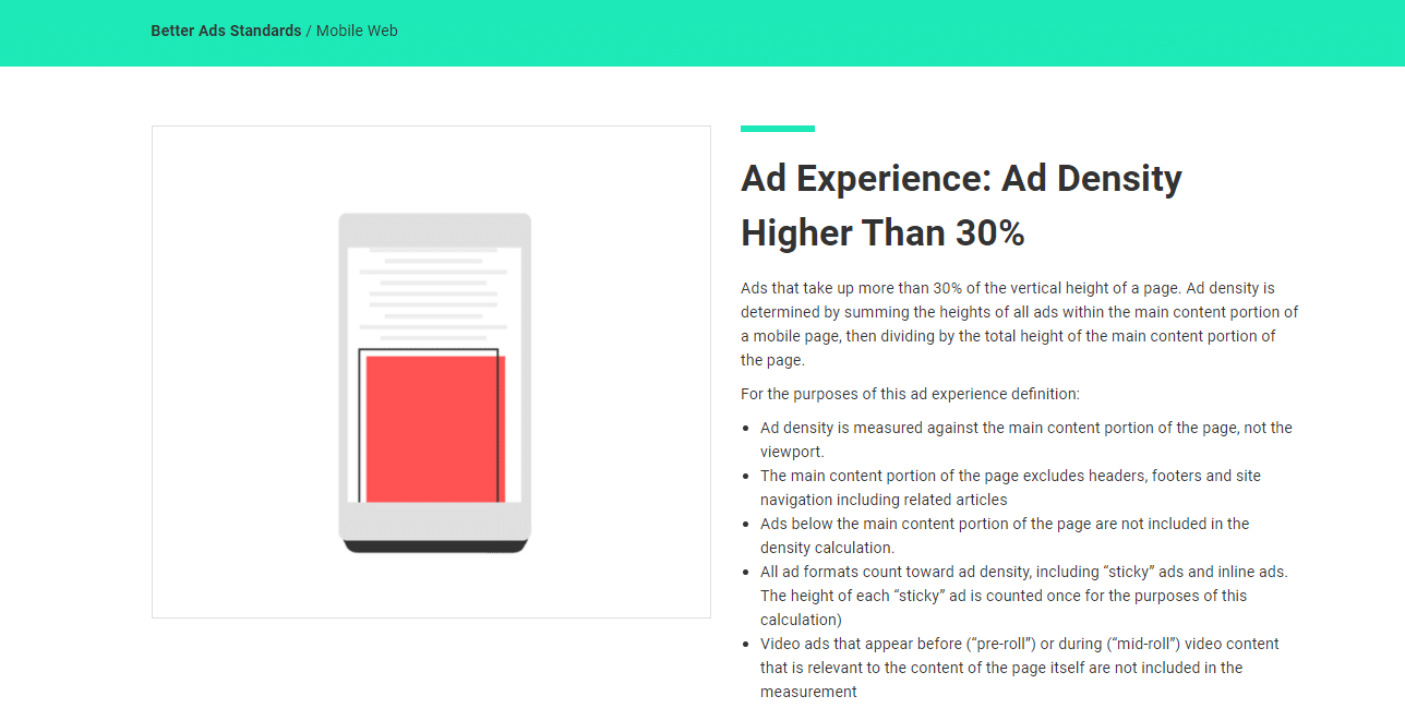 Ad Experince