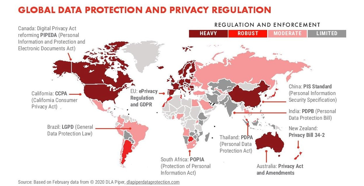 Data Privacy Law Adoption