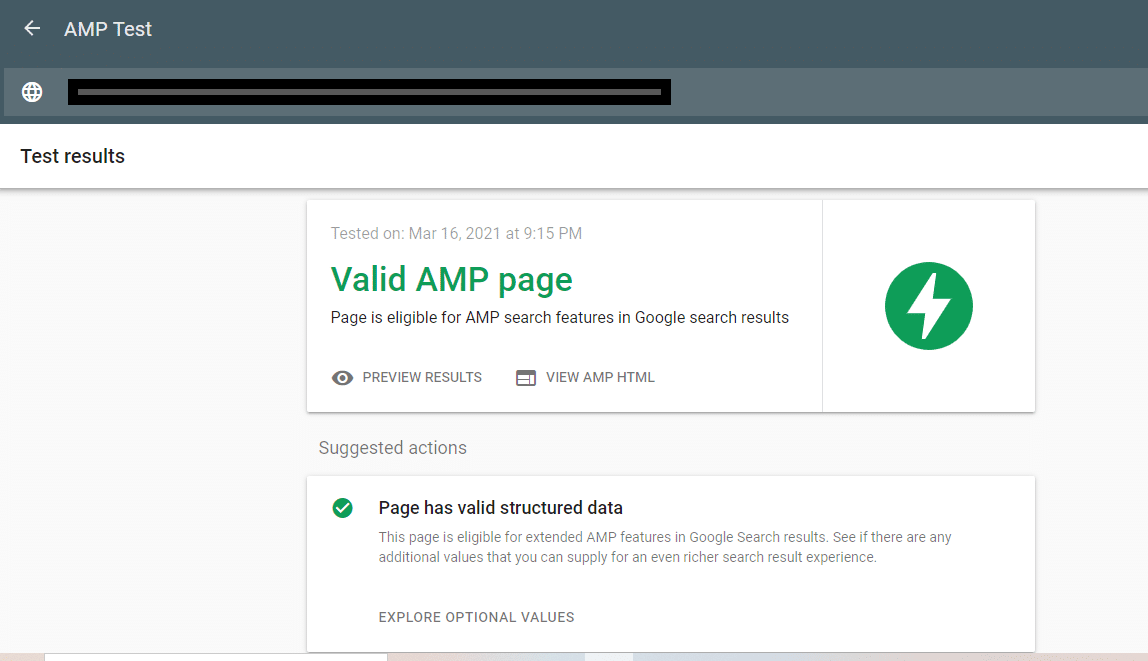 Validate AMP Page | Implement Google AMP on WordPress