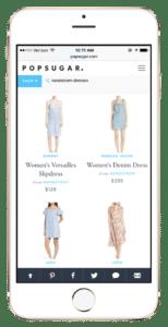 popsugar shopping app